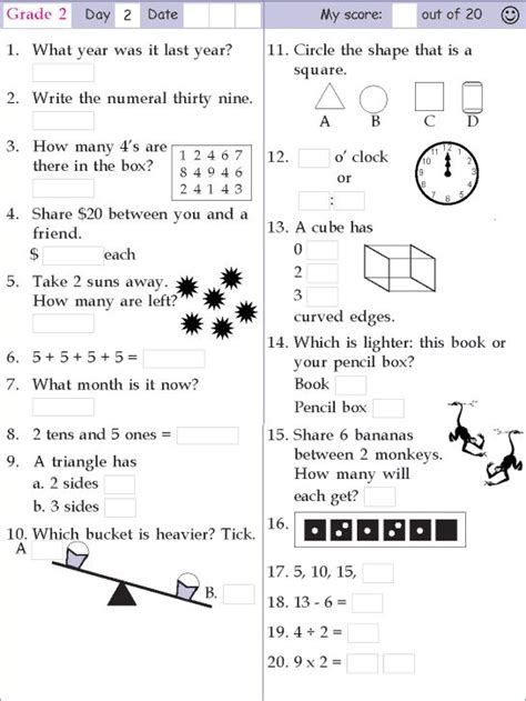 mental maths for grade 6 worksheets mental maths for