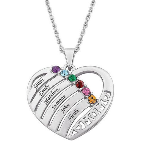 purchase the personalized quot quot birthstone pendant