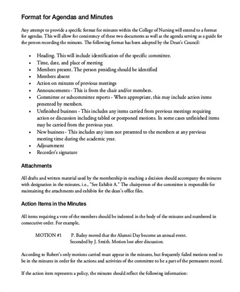taking minutes in a meeting template taking minutes template 10 free word pdf documents
