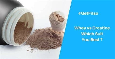 creatine vs protein creatine vs whey powder which is best for protein