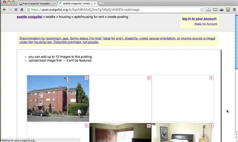 craigslist real estate template posting to craigslist using tourvistas new real estate