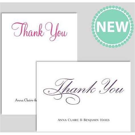 printable thank you cards walmart personalized thank you cards party supplies walmart com