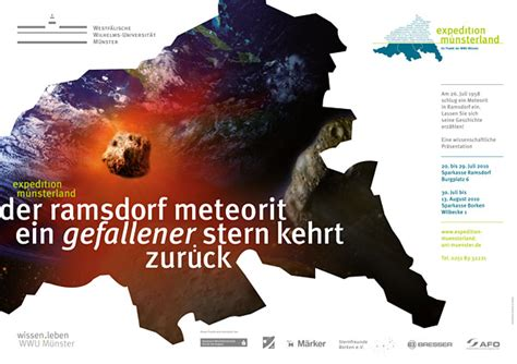 köster münster ausstellung des ramsdorfer meteoriten