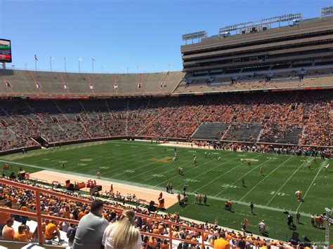 neyland stadium visitors section neyland stadium section z15 rateyourseats com