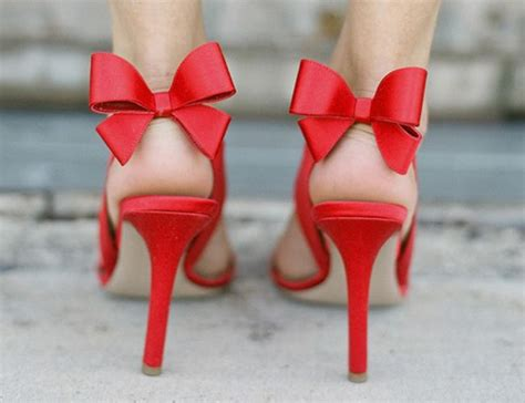 high heels with bows on the back bow back heels pumps