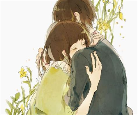 Anime Hug by 17 Best Ideas About Anime Couples Hugging On