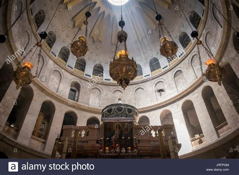 central church section church holy sepulchre stock photos church holy sepulchre