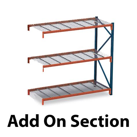 Add A Rack by Clearance Pallet Rack With Wire Decking Warehouse Rack