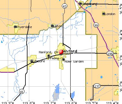 map of hanford california hanford california ca 93230 profile population maps
