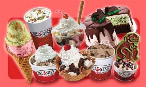 Brusters Gift Card - bruster s real ice cream