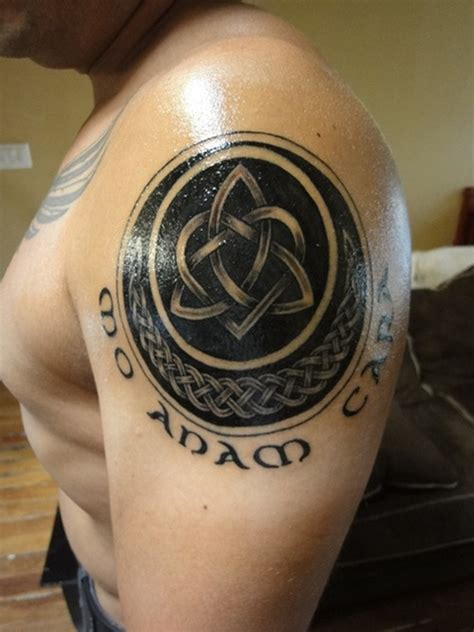 impressive shoulder celtic tattoos for men tattoos for men