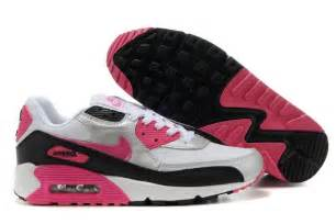 Supply goods womens nike air max 90 shoes white silver pink black