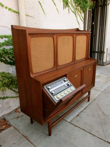 rca victor tv cabinet mid century rca victor stereo cabinet resembles an old