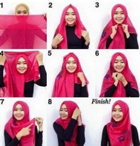 tutorial hijab segi empat yang syar i tutorial hijab syar i segi empat simple dan kekinian