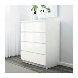 malm chest of 4 drawers white high gloss 80x100 cm ikea