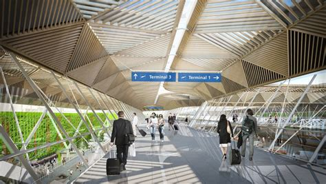 architect and building news report on airport building frankfurt airport gate a building german air terminal