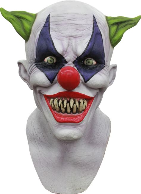 creepy giggles the clown mask 326391 trendyhalloween