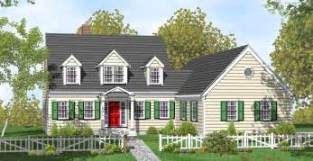 farmhouse plans cape cod house plans
