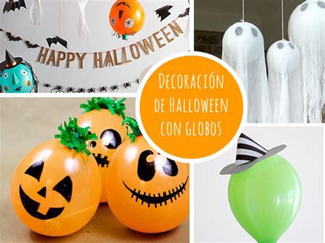 decorar globos para halloween decoracion halloween globos actividades y planes para