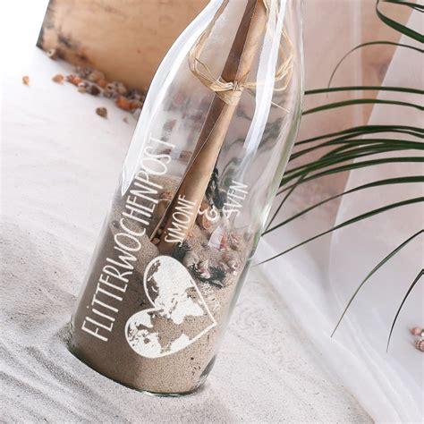 Geschenk Hochzeit by Flaschenpost Als Geschenk Zur Hochzeit
