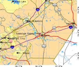 west canaan map guadalupe county