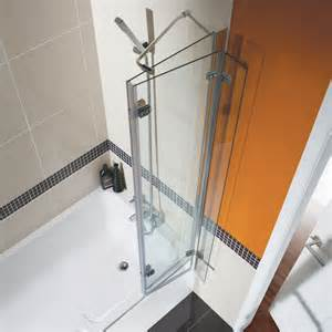 milano square bi fold shower bath screen collection folding tub shower doors pictures images