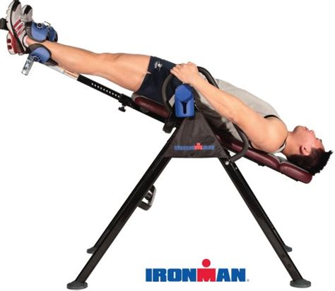 inversion table risks ironman lxt850 locking inversion therapy table home garden