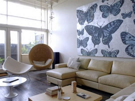 neutral wallpaper for living room unique playful butterfly decor