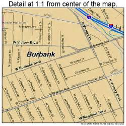 where is burbank california on the map burbank california map 0608954