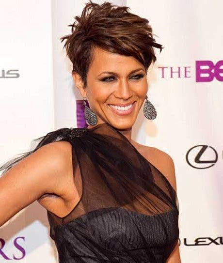 black ladies with short with spikes short spikey hairstyles for black women