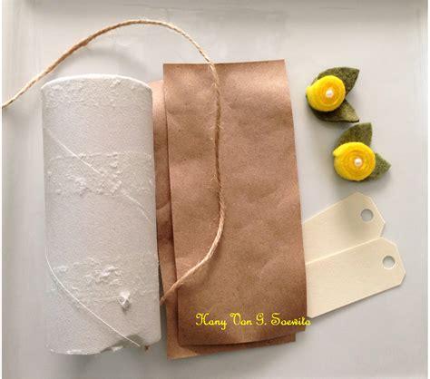 cara bungkus kado gulung pojok utak atik memanfaatkan gulungan tissue bekas