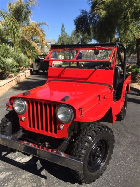 Jeep For Sale Las Vegas 1947 Jeep Willys Cj 2 For Sale Willys 1947 For Sale In