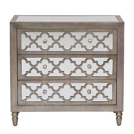 kirklands mirrored 3 drawer chest geometric mirrored 3 drawer chest kirklands