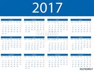 Calendario 2018 En Ingles Quot Calendario En Ingl 233 S 2017 Quot Stock Image And Royalty