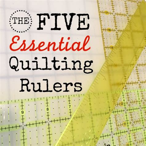 Quilt Ruler by 5 Essential Quilting Rulers For Almost Any Project