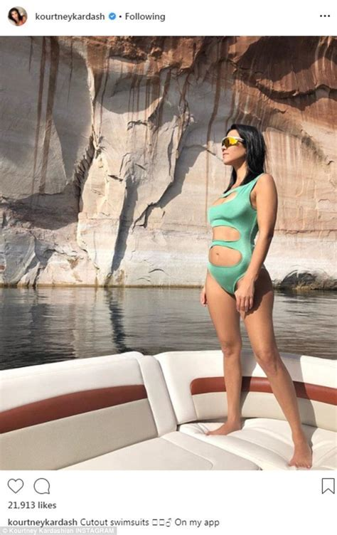 Kourtney Kardashian Flaunts Cleavage And Sculpted Abs In