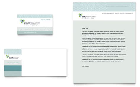 financial services letterhead templates word publisher
