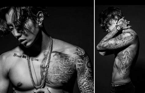 jay park tattoos ask k pop 14 idols who proved tattoos are