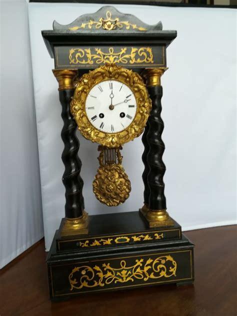 orologi da tavolo francesi orologio pendolo da tavolo francese 1870 catawiki