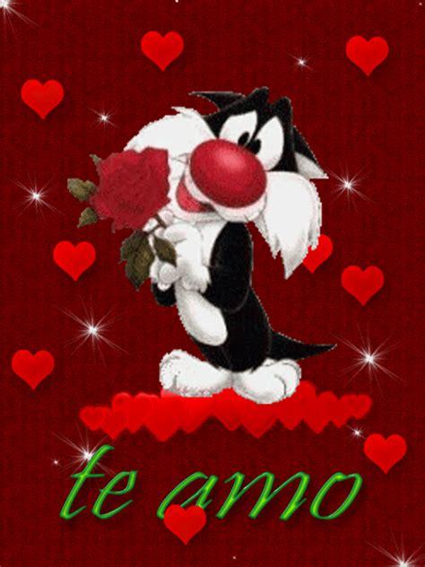 imagenes de amor y amistad bonitas animadas 5 im 225 genes de amor con movimiento con frase te amo mi amor