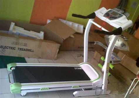 Alat Olahraga Run treadmill elektrik 3 fungsi murah alat olahraga fitnes
