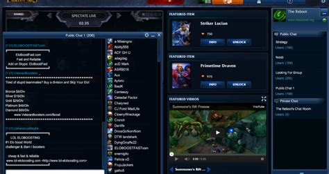 league of legends chat rooms smurfs chat room na