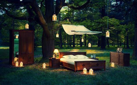 outdoor bedrooms feel outdoor bedroom romantic night hd wallpapers rocks