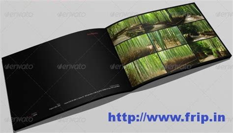 Best 40 Portfolio Brochure Design Print Templates Frip In Portfolio Book Template Free