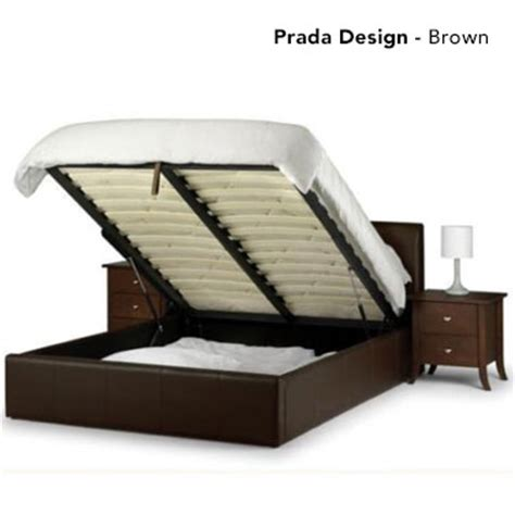 lift bed frame gas lift pu leather bed frame w storage in 4 sizes buy