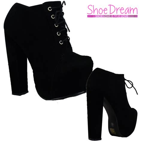 Kode K0559 New Arival High Heel Angkle Boot Swarovski Import b3g black suede high heel platform lace up ankle