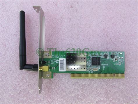 dell tk314 asus wl 138g v2 54mbps wifi wlan wireless pci network card w antenna ebay