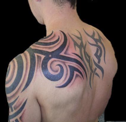 tattoo tribal shoulder upper arm tattoos for men on back shoulder free wallpapers