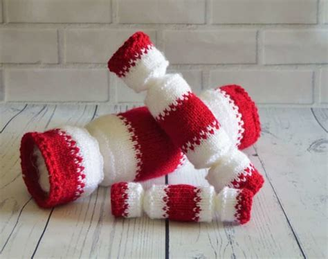Knitting Pattern Christmas Cracker | christmas cracker trio knitting by post