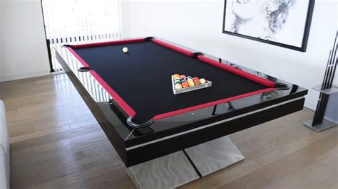 ultra modern pool table contemporary pool tables youtube